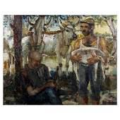 187: Verdecchia Carlo -Italian painting