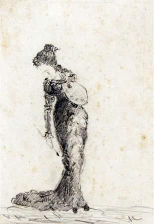 Scuola del XIX secolo - Italian painting