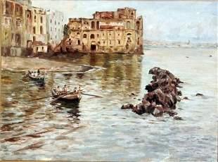 Scuola del XX secolo - Italian painting