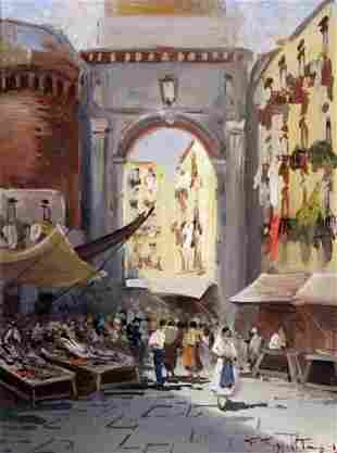 Giuseppe Rispoli - Italian painting