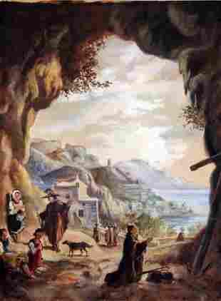 Ferdinando Del Basso - Italian painting