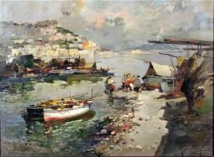 Felice Giordano - Italian painting