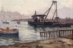 Leon Giuseppe Buono - Italian painting