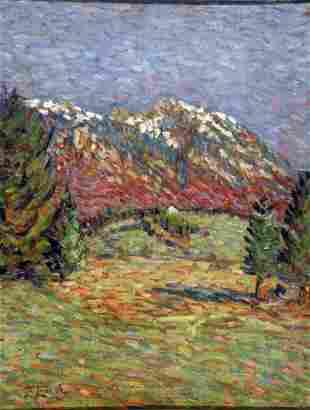 Enrico Lionne - Italian painting