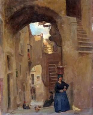 Alberto Carosi - Italian painting