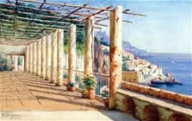 107: Gaetano Capone - Italian painting