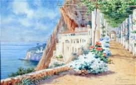 110: Gaetano Capone - Italian painting