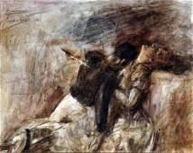 120: Gaetano Previati - Italian painting