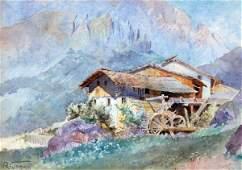 140: Raffaele Tafuri - Italian painting