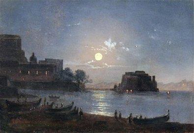 167: Antonio Sminck Pitloo - Italian painting