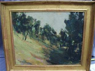 Anne Packard Landscape of Trees