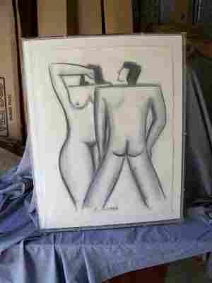 E. Longo 2 Nudes
