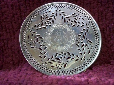 7A: Sterling Dish - engraved to Nancy, from the Women o
