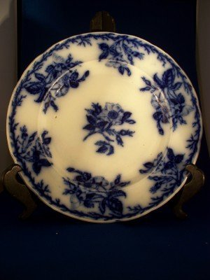 "5: ""English Rose"" Flo Blue plate, No #105"