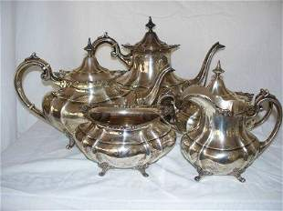 Reed and Barton, Sterling 5 piece coffee/ tea set