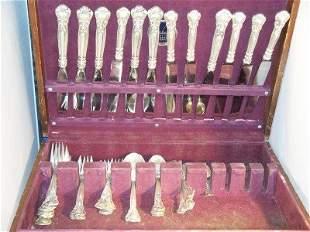 Gorham Sterling Silver flatware, 12 knives, 12 Demi