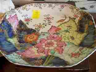 Mottahedeh Platter, Tobacca Leaf pattern