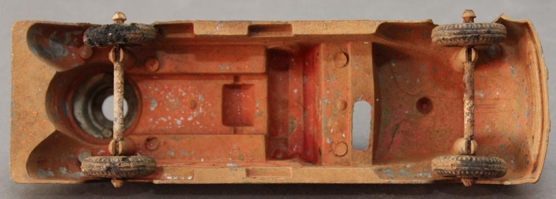 """cast alloy firetruck, 7.25"""" x 2.5"""" - 5"""