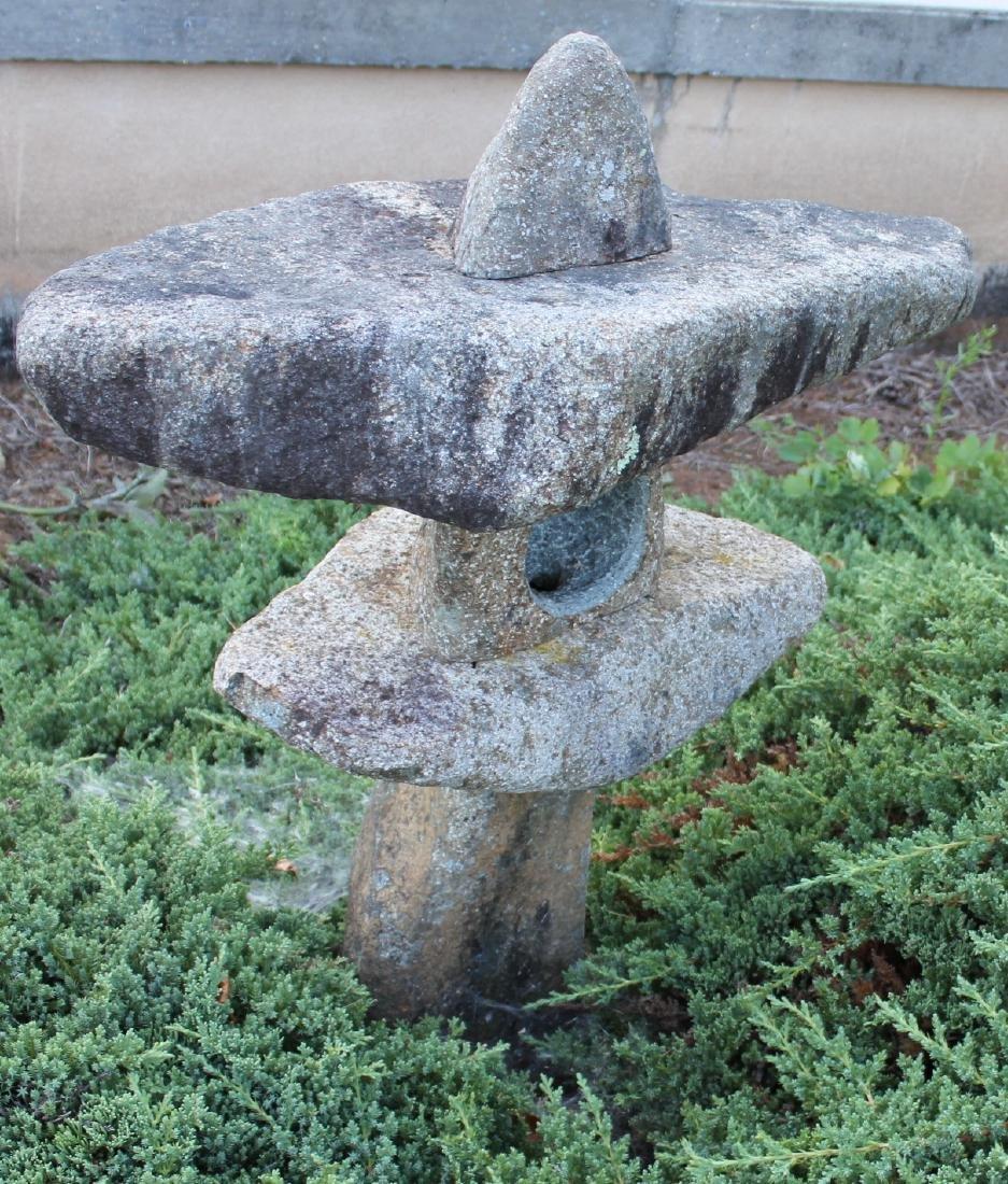 """Thai granite garden sculpture; 29"""" x 37"""" - 2"""
