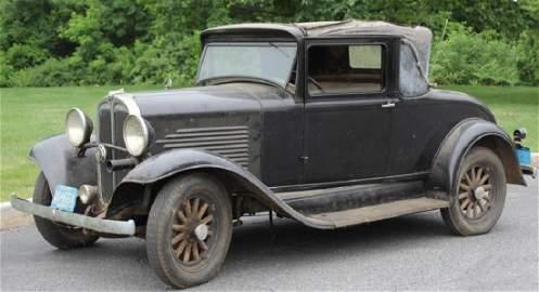 1931 Willys Six Model 97 car good original running
