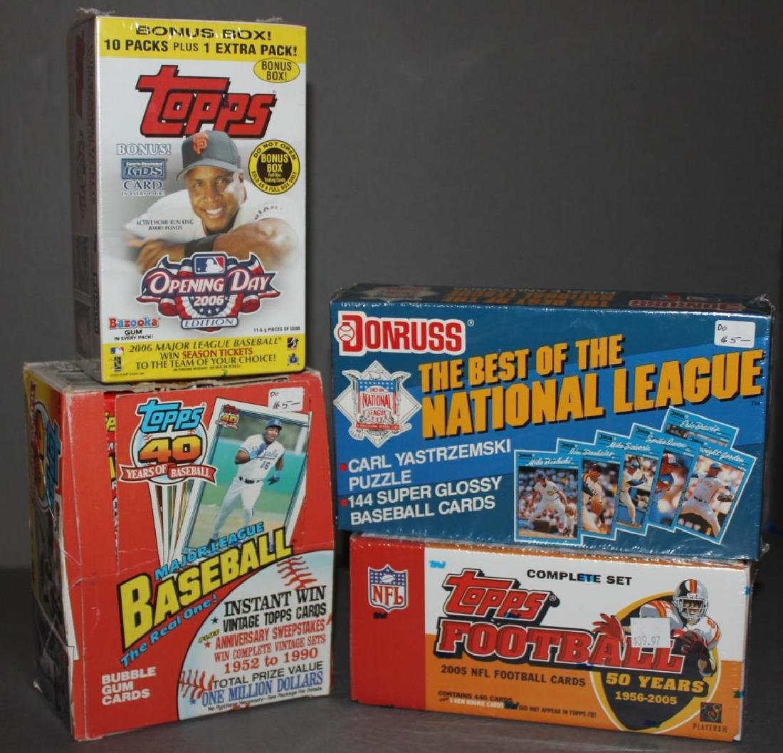 Topps Bazooka Gum Packs 2006 Baseball Cards Still On Liveauctioneers