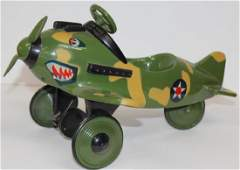 """2 airplanes- camo minia airplane pedal car """"Xonex"""" Ltd."""