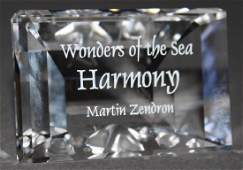 "Swarovski Crystal - Title Plaque ""Wonders of the Sea"