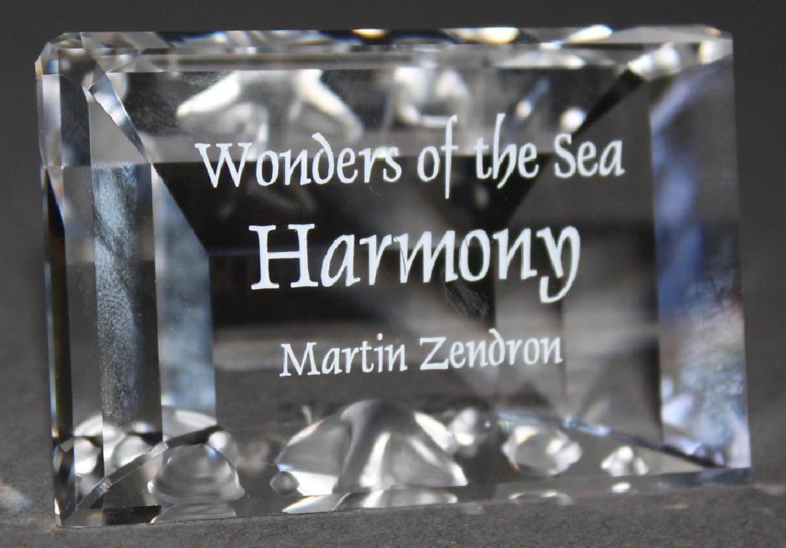 "Swarovski Crystal - Title Plaque ""Wonders of the Sea"