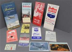 United Airlines - Your United DC-6 Mainliner 300 Flight