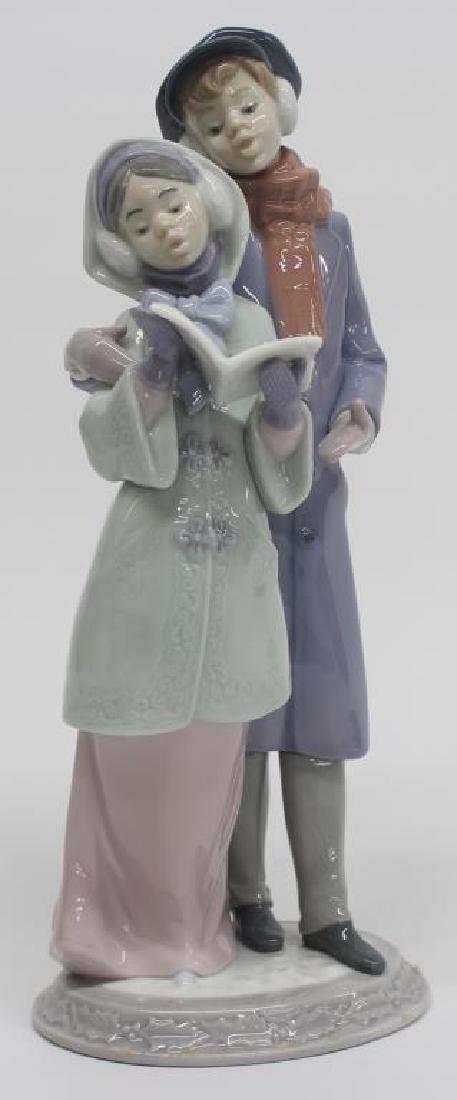 "Lladro figurine ""Christmas Melodies"" 06128, 10.5"" high,"