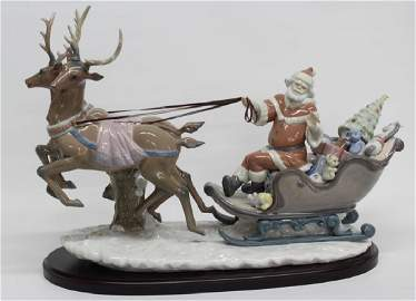 """Lladro figurine """"Up and Away"""" 05975, 20.5"""" long x 13"""""""