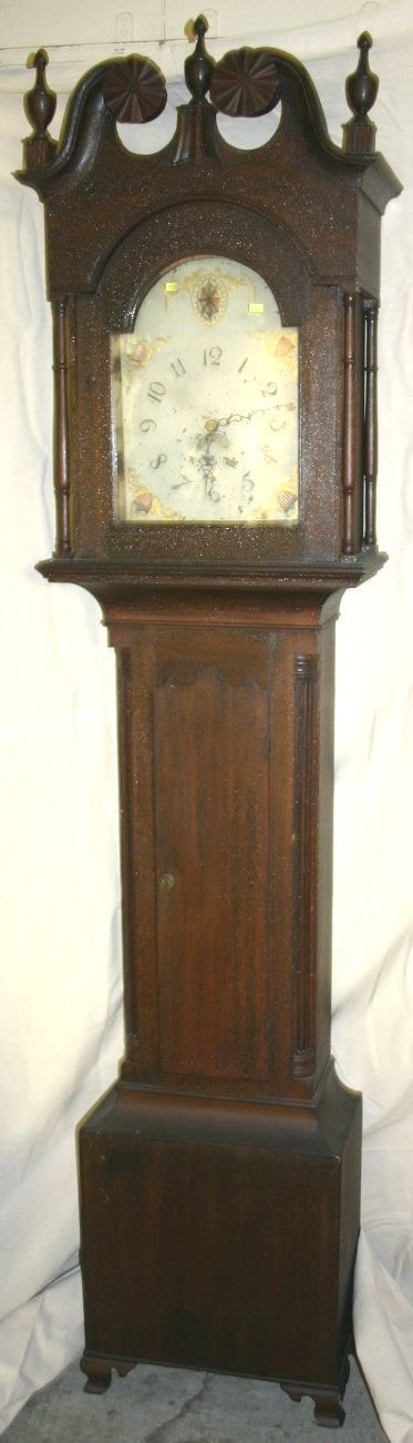 607: Tall Case Clock