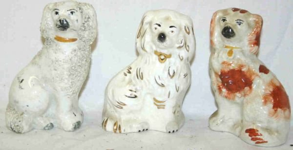 435: Staffordshire Dog Figurines