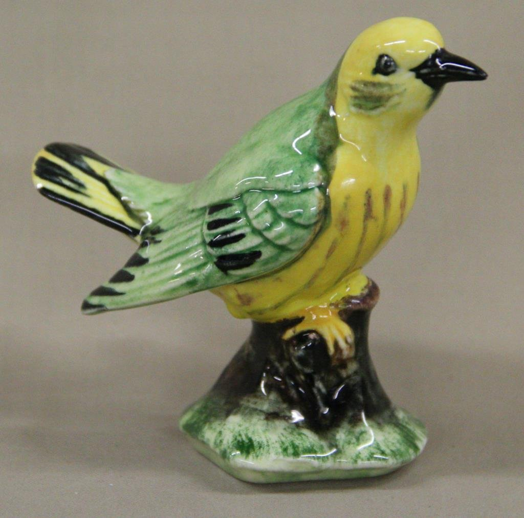 Stangl yellow/green bird