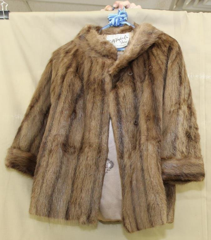 mink jacket by R.M. Taylor Co.