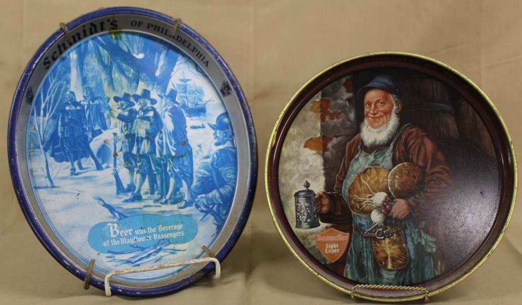 Schmidt's & Neuweiler beer trays