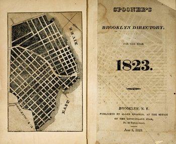 13A: 1823 Brooklyn Directory