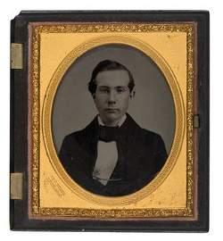 225A: Ambrotype portrait of John D. Rockefeller