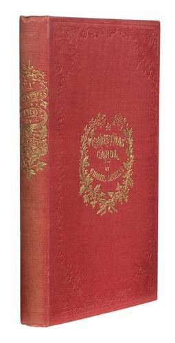 100A: DICKENS, Charles.  A Christmas Carol. In Prose. B