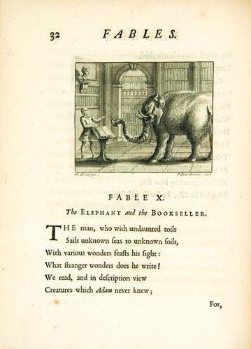 3B: GAY, John (1685-1732).  Fables.