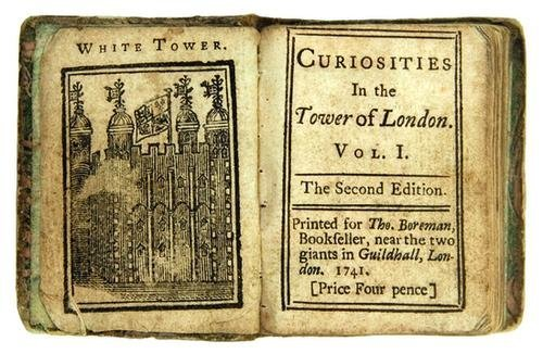 4B: BOREMAN, Thomas (publisher) Curiosities in the Tow