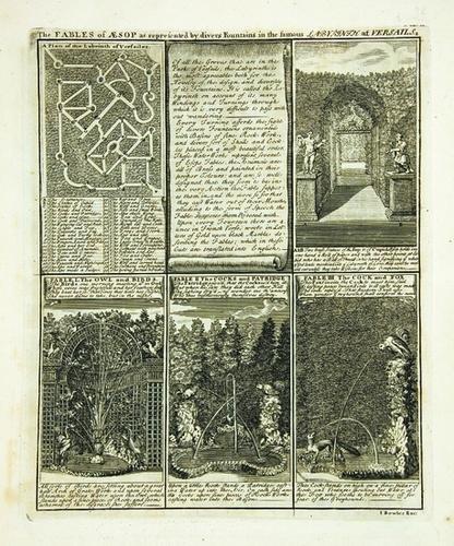 7B: AESOP - John BOWLES & Son; publishers.  Versailles