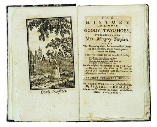 14B: THOMAS, Isaiah; publisher.  The History of Goody T