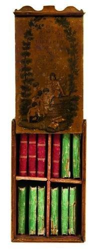 18B: MINIATURE BOOKS.  The Cabinet of Lilliput Stories