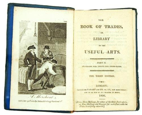 20B: TABART & Co.; publishers.  The Book of Trades, or