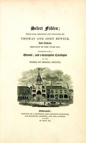 24B: BEWICK, Thomas (1753-1828) and others; illustrator