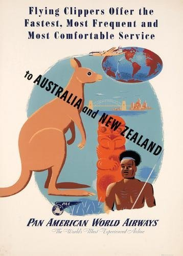 3C: ANONYMOUS  PAN AM TO AUSTRALIA and NEW ZEALAND
