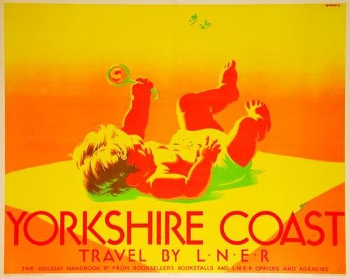 227C: PURVIS, Tom (1888-1959)  YORKSHIRE COAST, LNER