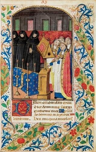 21B: BOOK OF HOURS, use of Rouen, in Latin. Late 15th C