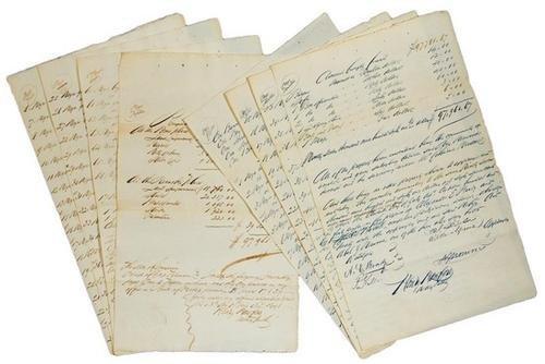 5C: Manuscript slave inventory